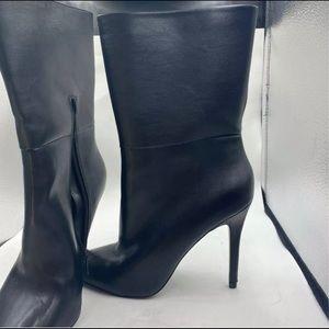 Charles By Charles David Mid-Calf Boots black 7.5